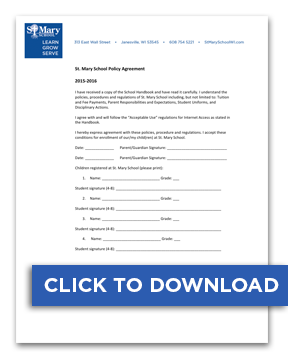 Download Policy Agreement Form
